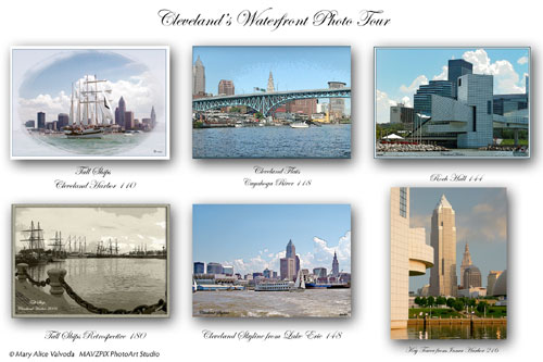 Waterfront Photo Notecards
