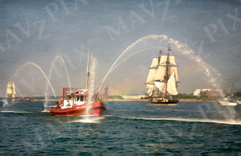 Ships Art on Canvas