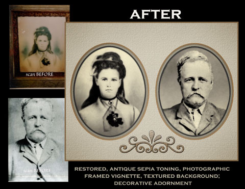 Restoration and Collage