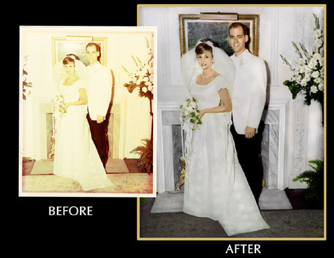 Wedding Photo restorations Ohio